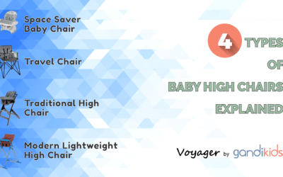 Types of Baby High Chairs: 4 Types Explained