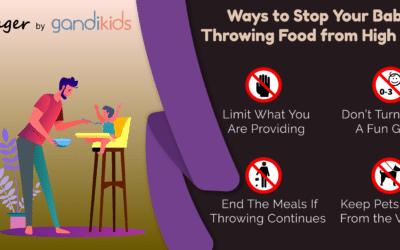 Stop Your Baby Throwing Food from High Chair