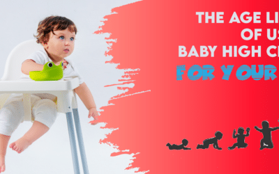 Age Limits for Baby High Chair