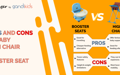High Chair vs. Booster Seat: What Is The Best Feeding Option?