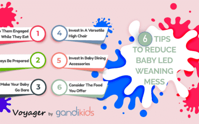6 Tips to Reduce Led Weaning Mess