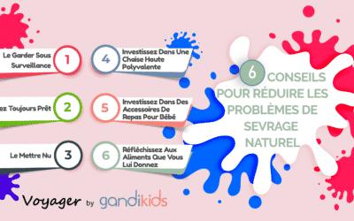 6 conseils pour réduire les problèmes de sevrage naturel