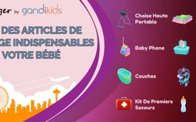 Liste complète des articles de voyage indispensables pour bébé