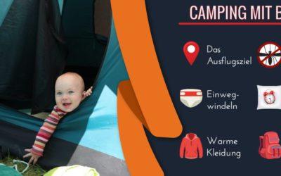 Camping mit Baby – 8 wertvolle Tipps zum Ausprobieren