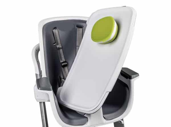 Example of baby high chair removable tray