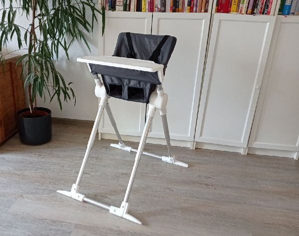 Exemple de chaise haute bébé de voyage